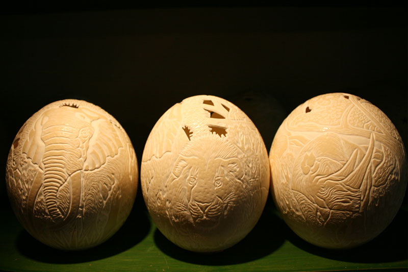 Engraved Eggs
